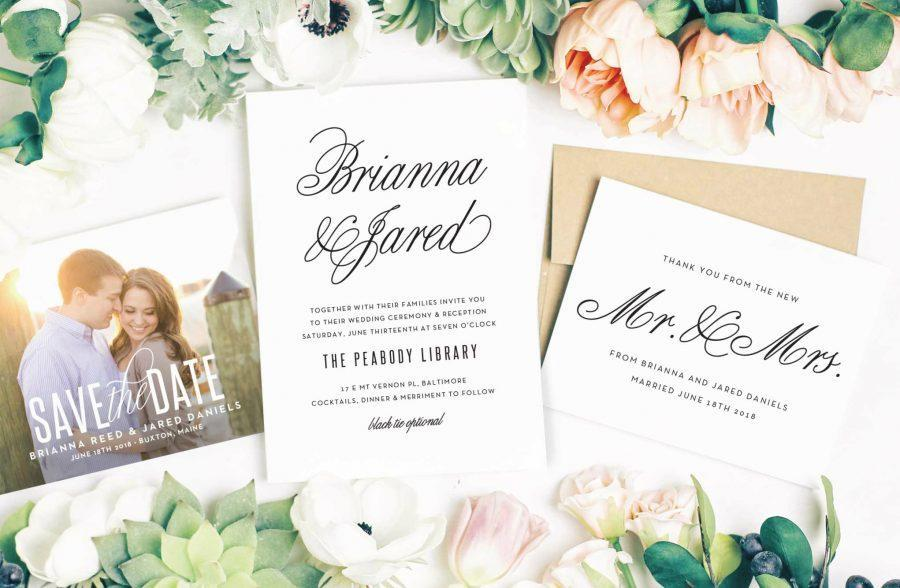 Philly In Love Vendor Directory Local Wedding Vendors PA DE NJ Philadelphia Weddings Stationery Wedding Suite Invitations Save-the-dates